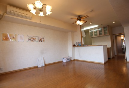 施工前_リビング・キッチン