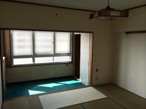 施工前_キッチン・リビング