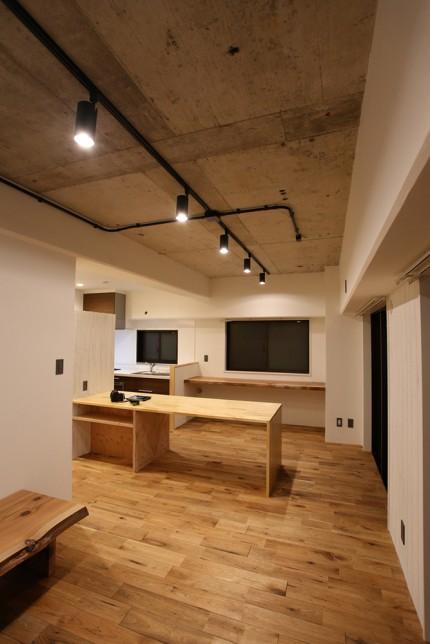 施工後_リビング・キッチン
