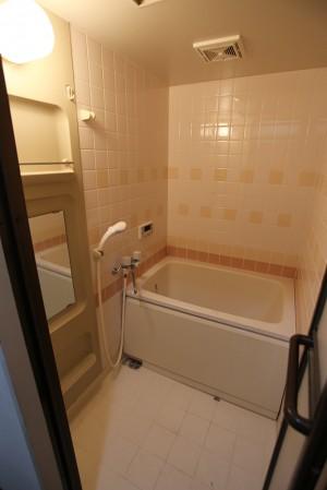 施工前_洗面所・浴室