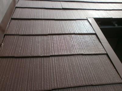 屋根塗装工事完了後