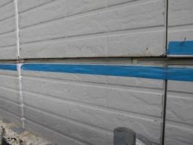 外壁の塗装が剥げてしまっている