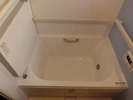 ユニットバス工事後、浴槽