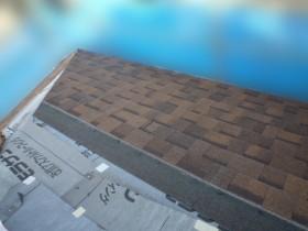 屋根カバー工事、屋根材葺き
