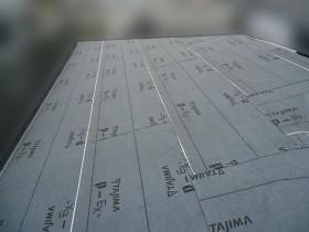 屋根カバー工事防水シート