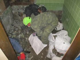 浴室改修_既存浴室の解体