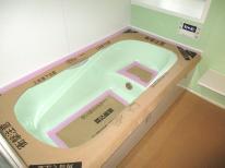浴室改修_ユニットバス取付