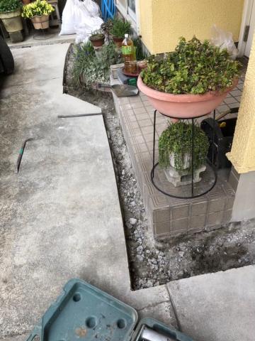配水管工事