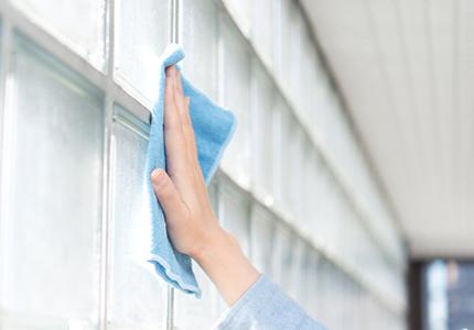 高所設置窓の清掃