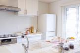 キッチンを広く使うリフォーム
