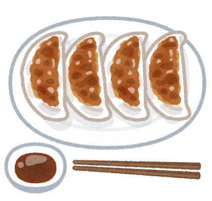 日本独自進化 餃子