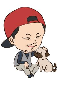 上野の似顔絵